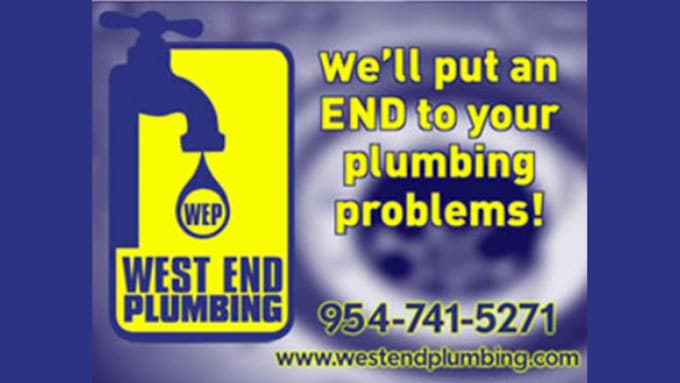 West End Plumbing in Coral Springs