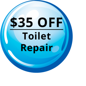 $35 OFF - Toilet Repair