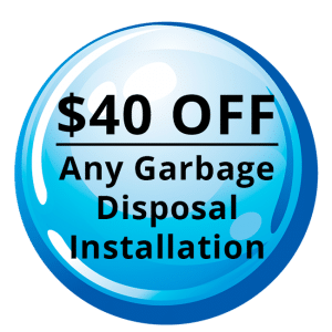 $40 OFF: Garbage Disposal Installaion