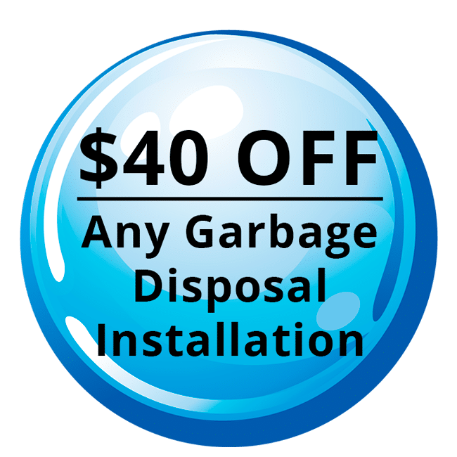 $40 OFF: Garbage Disposal Installaion