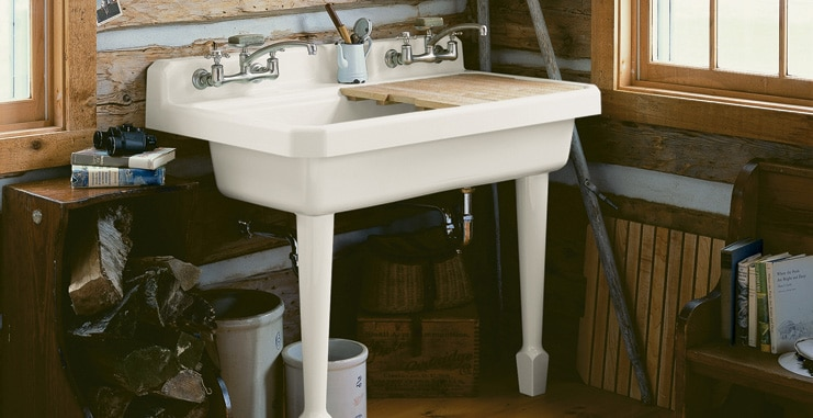Residential Laundry Room Plumbing Services and Sinks