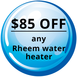 $85 OFF - Any Rheem Water Heater