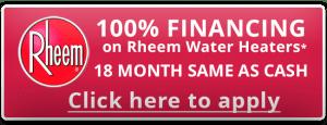 Rheem - 100% Financing on Rheem Water Coupon