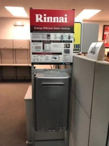 Rinnai Energy-Effect Eater Heater